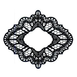 CREATIVE EXPRESSIONS und COUTURE CREATIONS Rubber stamp, Creative Expressions, Delicate Lace (Lace)