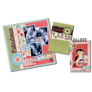Karten und Scrapbooking Papier, Papier blöcke Premium Color Core karton