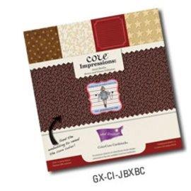 Designer Papier Scrapbooking: 30,5 x 30,5 cm Papier Designerblock, Premium ColorCore cardstock