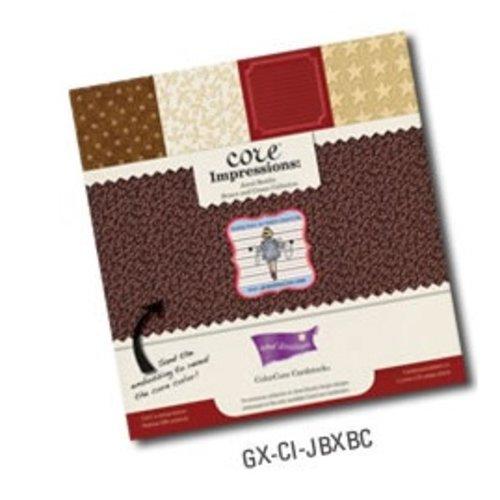 Designer Papier Scrapbooking: 30,5 x 30,5 cm Papier bloc Designer, Premium Couleur de base du papier cartonné
