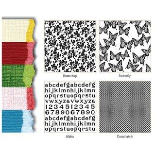 Karten und Scrapbooking Papier, Papier blöcke Designer Block, Premium Colorcore cardstock