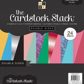 DCWV und Sugar Plum Designer block, double-sided cardstock stack