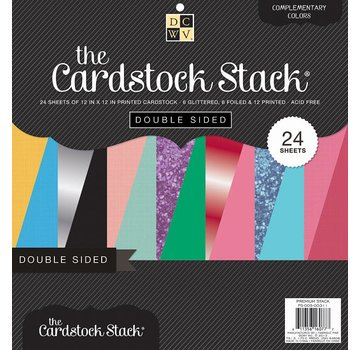 DCWV und Sugar Plum Designer block, double-sided cardstock stack