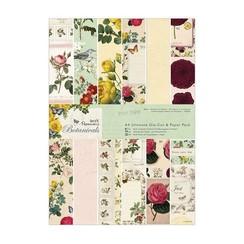 Designer Block, A4, disegni magici, Botanicals