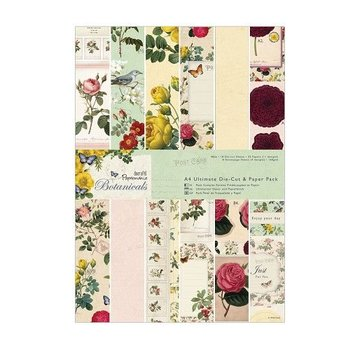 Karten und Scrapbooking Papier, Papier blöcke Designer Block, A4, magische ontwerpen, Botanicals