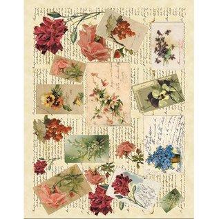 DECOUPAGE AND ACCESSOIRES Zacht papier 50x70cm - Memories 1
