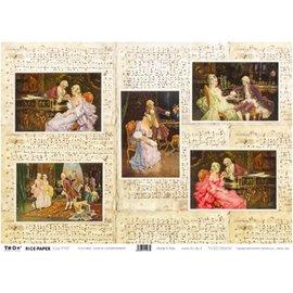 DECOUPAGE AND ACCESSOIRES Rice Paper 35 x 50cm - Canova's Entertainments