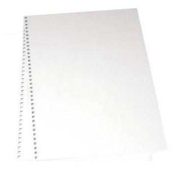 BASTELZUBEHÖR, WERKZEUG UND AUFBEWAHRUNG couvercle en carton pour l'album, 22x30, 5 cm, 2 pièces dans un sac, blanc