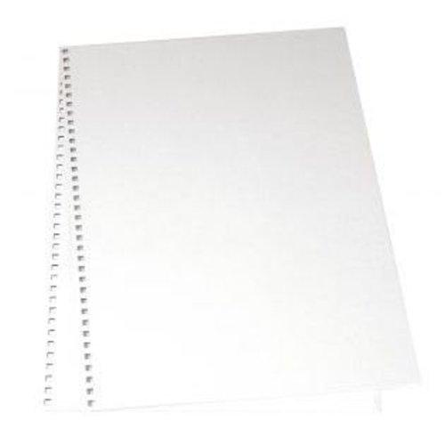 BASTELZUBEHÖR, WERKZEUG UND AUFBEWAHRUNG Papp-Deckel für Album, 22x30,5 cm, 2 Stück im Beutel, weiß