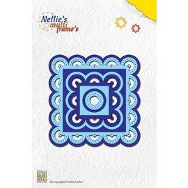Nellie Snellen Nellies Snellen, Multi Schablone zum Schneiden, Prägen und Sticken