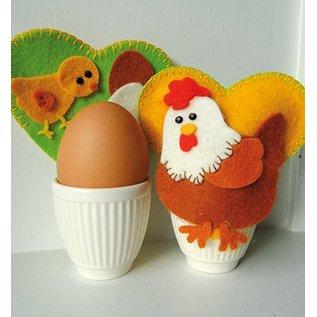 Marianne Design Snij en embossing Sjablonen, moeder kip Creatables - terug in voorraad!