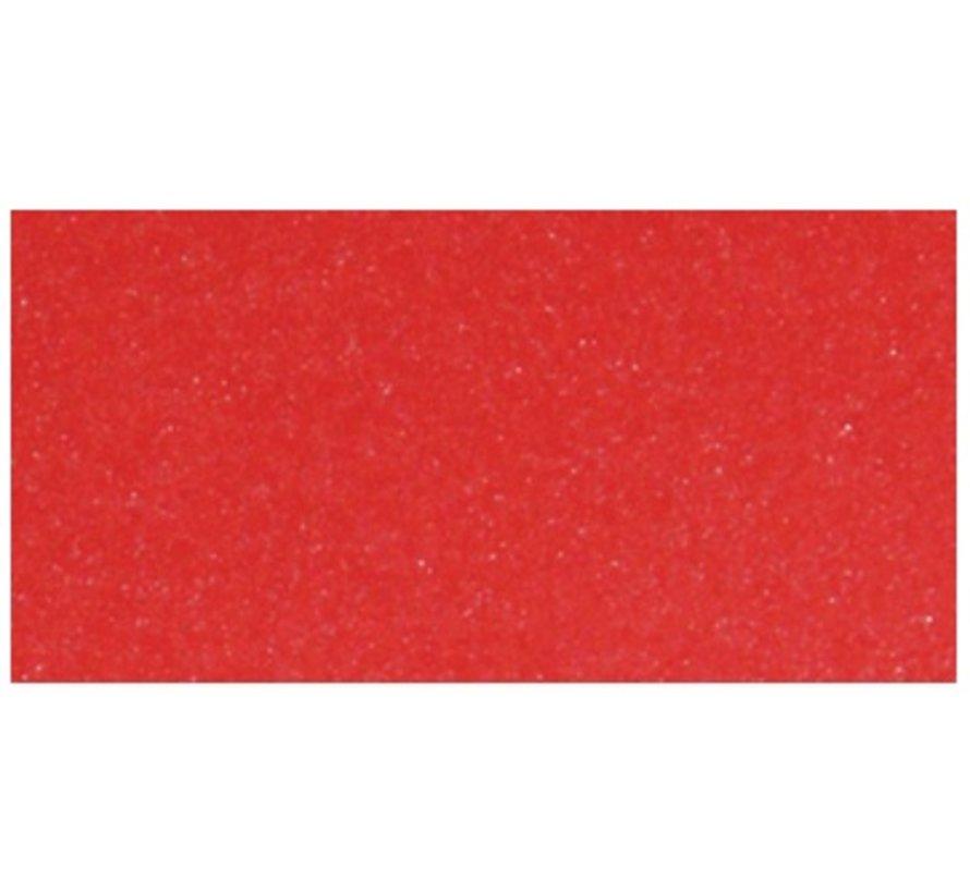 5 Bogen Metallic Karton, Extra KLASSE, in brilliant rot farbe!