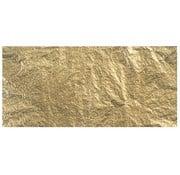 BASTELZUBEHÖR, WERKZEUG UND AUFBEWAHRUNG Deco metal, 14x14 cm, fane-taske. 5 ark, guld