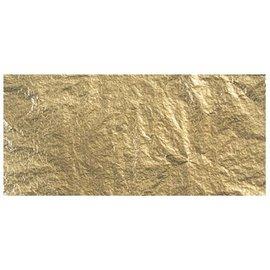 BASTELZUBEHÖR, WERKZEUG UND AUFBEWAHRUNG Metales Deco, 14x14 cm, tabuladores bolsa. 5 hojas, oro