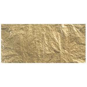 BASTELZUBEHÖR, WERKZEUG UND AUFBEWAHRUNG Déco métal, 14x14 cm, onglet-sac. 5 feuilles, or