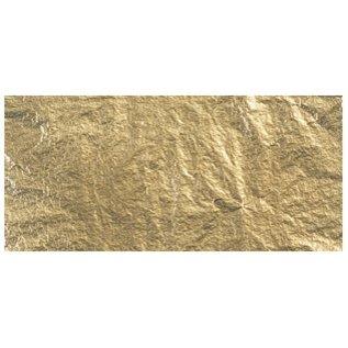 BASTELZUBEHÖR, WERKZEUG UND AUFBEWAHRUNG Deco metaal, 14x14 cm, ZB-zak. 5 vellen, goud