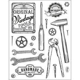 VIVA DEKOR (MY PAPERWORLD) Transparent Stempel, Vintage Werkzeuge