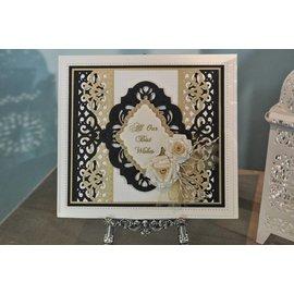 CREATIVE EXPRESSIONS und COUTURE CREATIONS ESPRESSIONI CREATIVE, taglio e rilievo Stencil