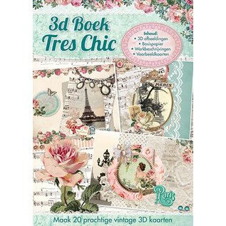 3D Bastelbuch - Tres Chic Nr.78, LETZTE VERFÜGBAR!