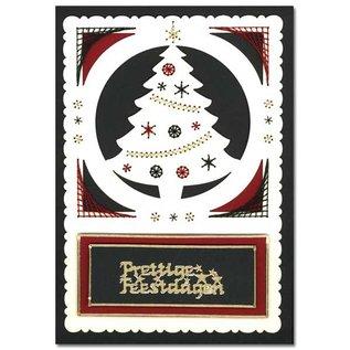 KARTEN und Zubehör / Cards Luxe oplegkaart 1Set met 3 kaarten, 10 x 15 cm
