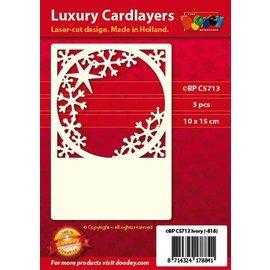 KARTEN und Zubehör / Cards Luxe Kaarten Pad 1Set met 3 kaarten, 10 x 15 cm