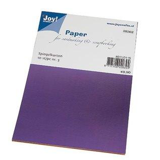 Karten und Scrapbooking Papier, Papier blöcke Spiegel doos, 10 vel