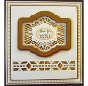 Stempel / Stamp: Transparent Craft Dies - Multi Stanz-und Prägeschablone