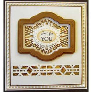 Stempel / Stamp: Transparent Creative Expressions,  Stanzschablonen, Zierrahmen