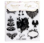 Docrafts / Papermania / Urban Clear stamps