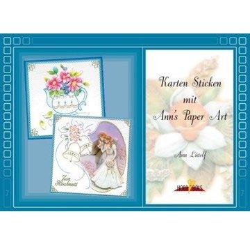 Bücher, Zeitschriften und CD / Magazines Buch mit Stickvorlagen