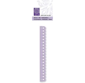 Cart-Us Others- and embossing stencil border drop, 14 x 134 mm