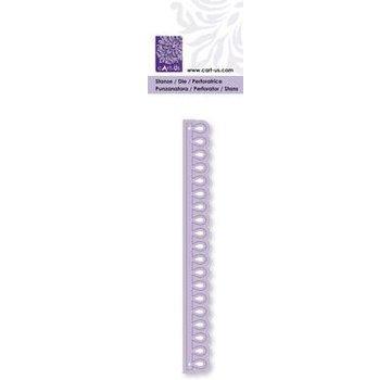 Cart-Us Varie- e goffratura stencil goccia confine, 14 x 134 millimetri