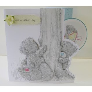 Me to You Me to You, Craft Kit voor 15 x 15 cm 3D-kaart
