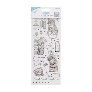 Me to You Outline Stickers - Me To You (Floral Bear)