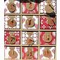 Objekten zum Dekorieren / objects for decorating 3D Schränkel Advent Kalender + 2 Stencils
