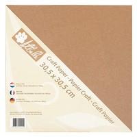 Kraftpapier, 30,5 x 30,5cm , 300gr, 20 Blatt