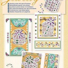 Sticker Kit de Artesanía para el diseño de tarjetas hermosas brillantes