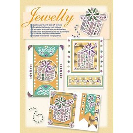 Sticker Kit de bricolage pour la conception de vives belles cartes