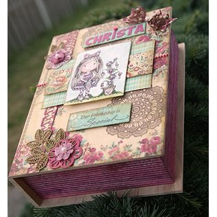 Objekten zum Dekorieren / objects for decorating 1 Schachtel in Buchform in holz