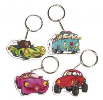 Kinder Bastelsets / Kids Craft Kits Schrumpffolien Set Crazy Cars