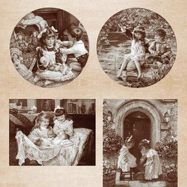 Nellie Snellen Las imágenes del vintage
