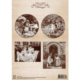 Nellie Snellen Images vintages