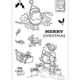 Stempel / Stamp: Transparent Transparent Stempel, Cuddly Buddly, Weihnachtsmotive