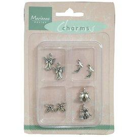 Marianne Design Metal - Charms 4x2 st. Invierno