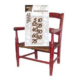 Joy!Crafts / Jeanine´s Art, Hobby Solutions Dies /  Präge- und Schneideschablone: Zahlen