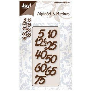 Joy!Crafts / Jeanine´s Art, Hobby Solutions Dies /  Embossing en snijden mat: aantallen