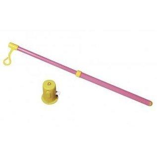 Kinder Bastelsets / Kids Craft Kits Laternen-Set Drache, 20cm ø, 40,5cm, inkl. Stab+LED-Lämpchen