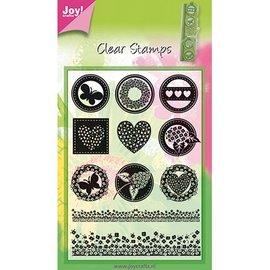 Joy!Crafts / Jeanine´s Art, Hobby Solutions Dies /  Sello transparente, 11 grandes diseños.