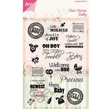 Joy!Crafts / Jeanine´s Art, Hobby Solutions Dies /  Timbri trasparenti
