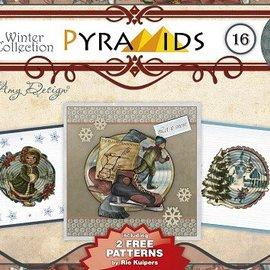 Bücher, Zeitschriften und CD / Magazines Bastelbuch, gør pyramide kort, No.16